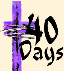 Lent cross 40 days
