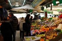 на парижском рынке