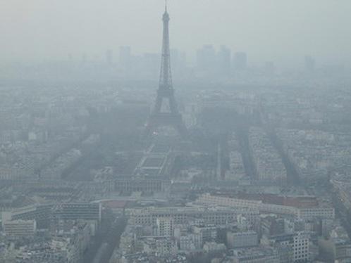 Alerte à la pollution aux particules fines — Île-de-France