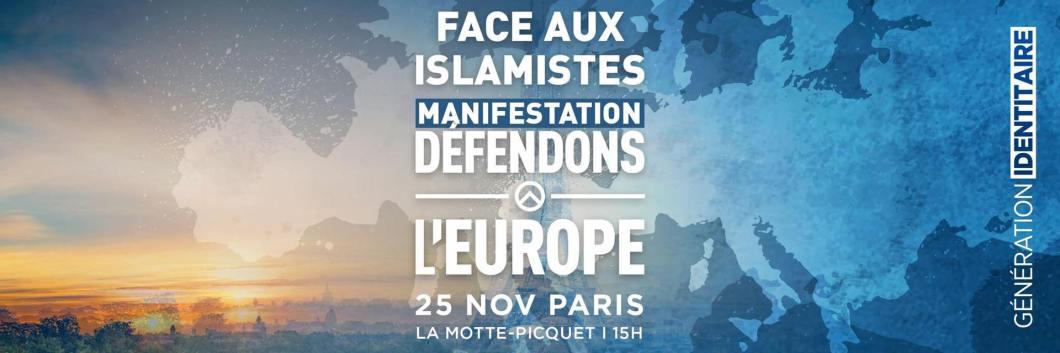 Face aux Islamistes, Défendons l'Europe