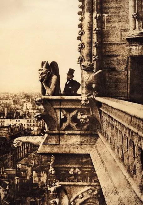 paris avant Notre Dame de Paris, 1853, Charles Nègre.