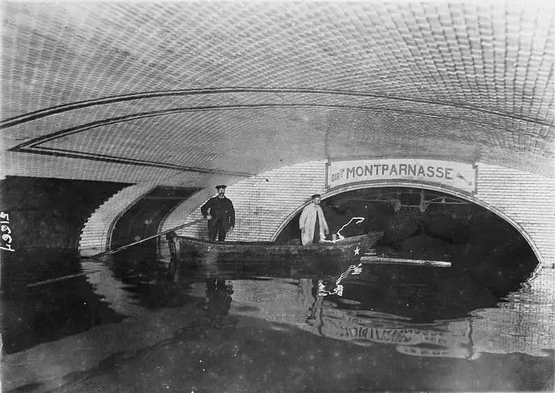paris 1910 inondation