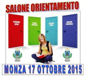 salone orientamento monza 17 ottobre 2015