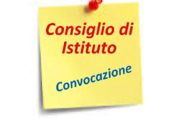 Convocazione Consiglio di Istituto 7 Maggio 2018.