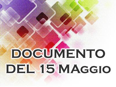 ESAMI DI STATO DOCUMENTO 15 MAGGIO CLASSE V IPC