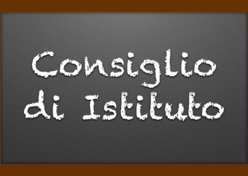 Convocazione Consiglio di Istituto 29 Maggio 2019