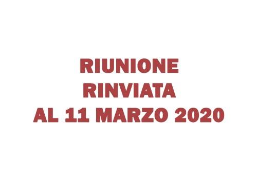 """Riunione di presentazione quinto anno """"Servizi Commerciali IPC Caravaggio"""" – rinviata all'11 marzo 2020"""