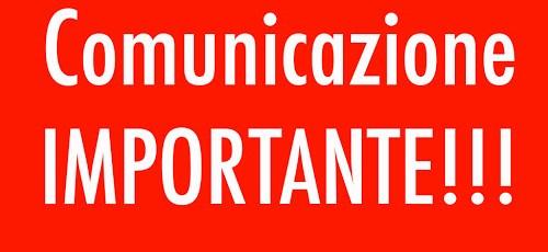 Comunicazione IMPORTANTE chiusura scuole pbs