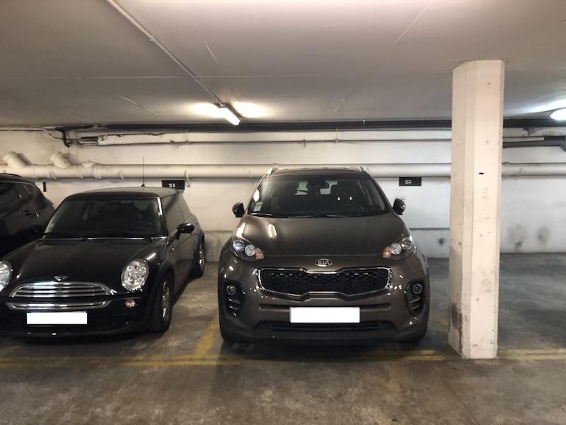 A vendre : Parkings rue du Colisée - en lot ou à l'unité Parkagence