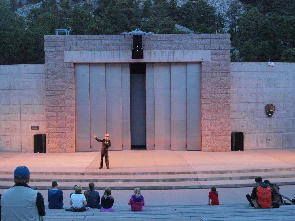Night Program at Mount Rushmore