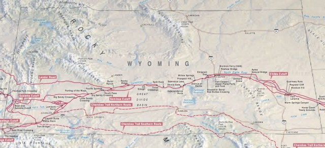 Map reprinted from: http://www.nps.gov/cali/planyourvisit/upload/CALImap1-web.pdf