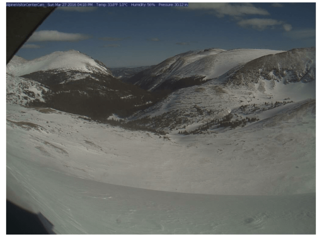 Alpine Visitor Center Webcam - Rocky Mountain National Park