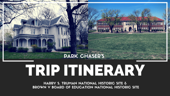 Park Chasers Trip Itinerary Graphic