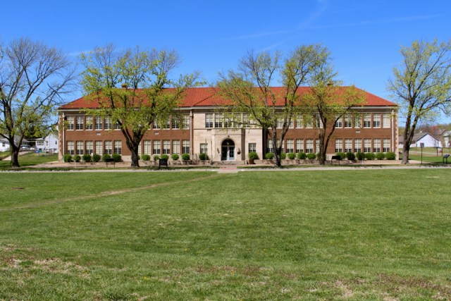 Monroe Elementary - site of Brown V. Board of Education National Historic Site