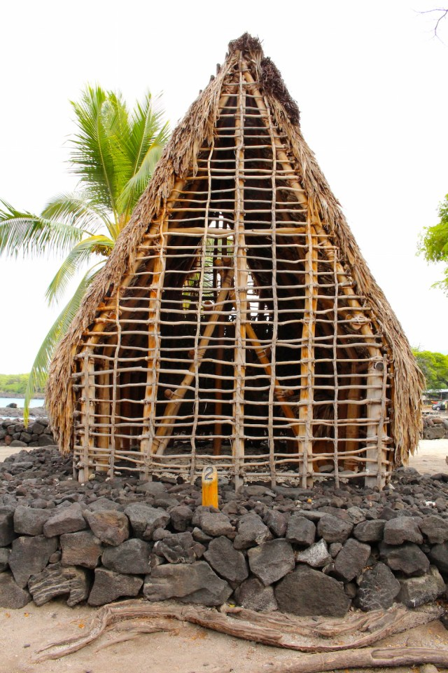 Sacred Structures at Puuhonua o Honaunau National Historical Park