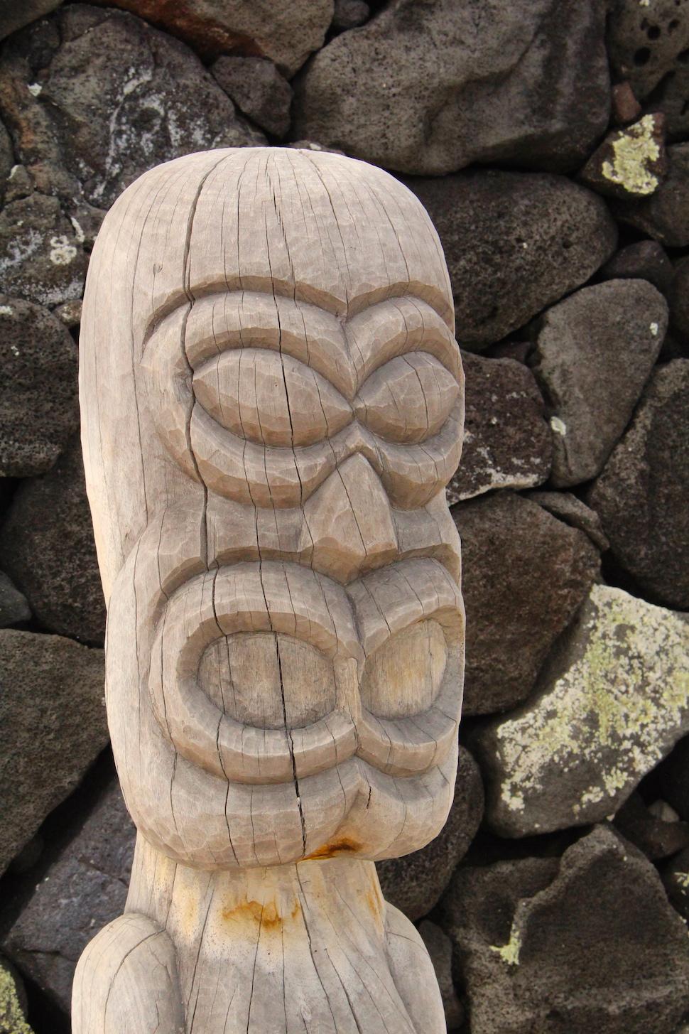 Ki'i - Puuhonua o Honaunau National Historical Park