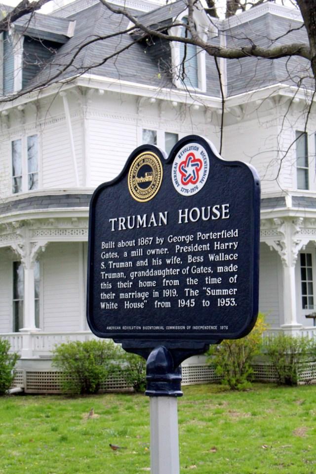 Truman House Sign