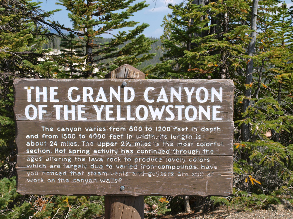The Grand Canyon of Yellowstone National Park