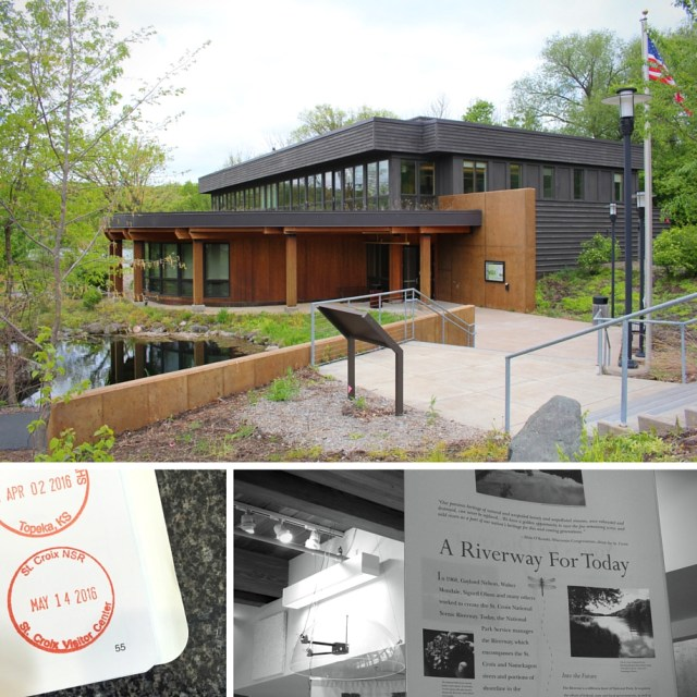 St. Croix National Scenic Riverway Visitors Center.  One of the National Parks in Wisconsin