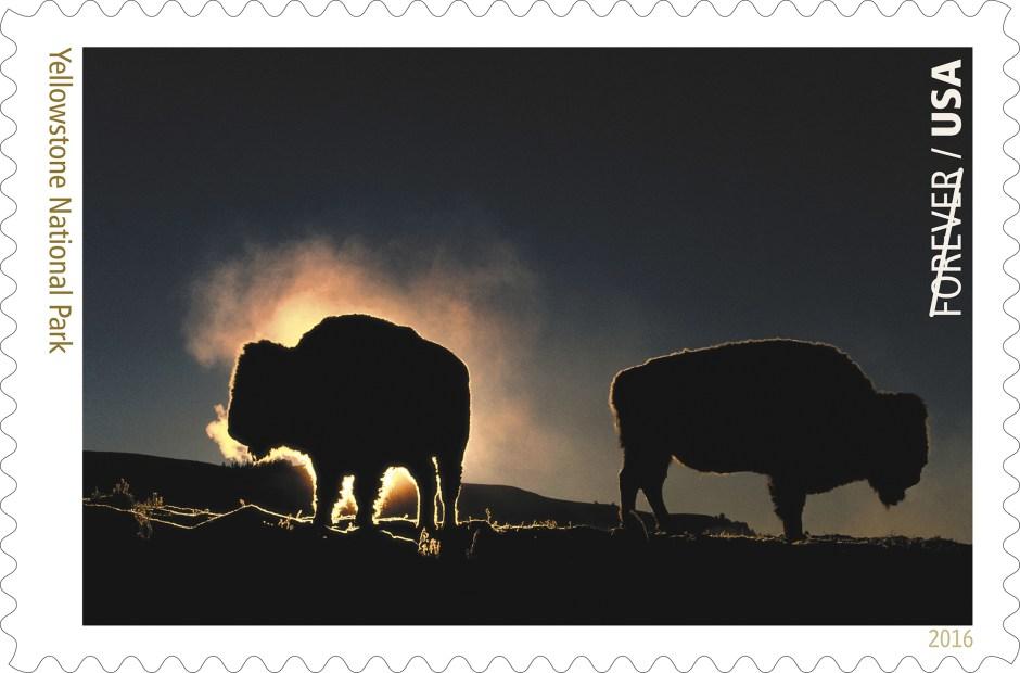 ©2016 USPS - National Park Service Centennial Stamps