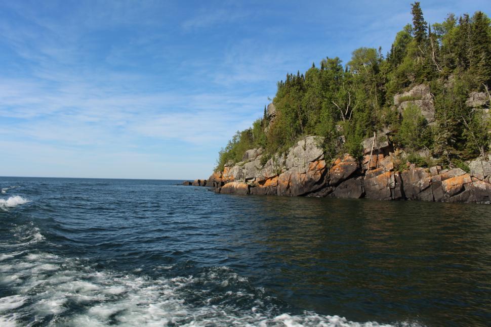 Isle Royale Lake On An Island