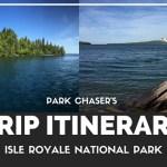 Trip Recap:  Isle Royale National Park