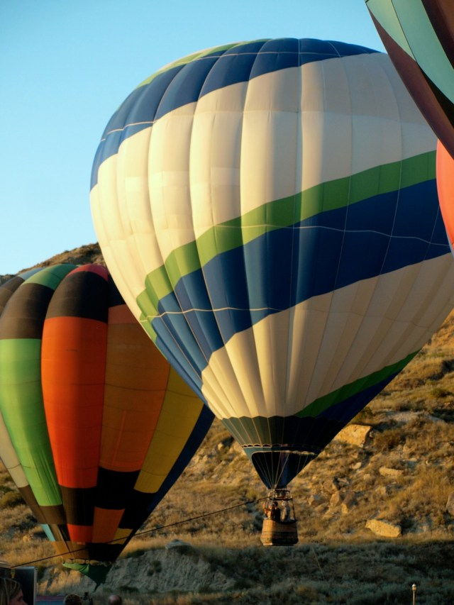 Hot Air Balloon - part of the Medora Hot Air Balloon Festival in September.