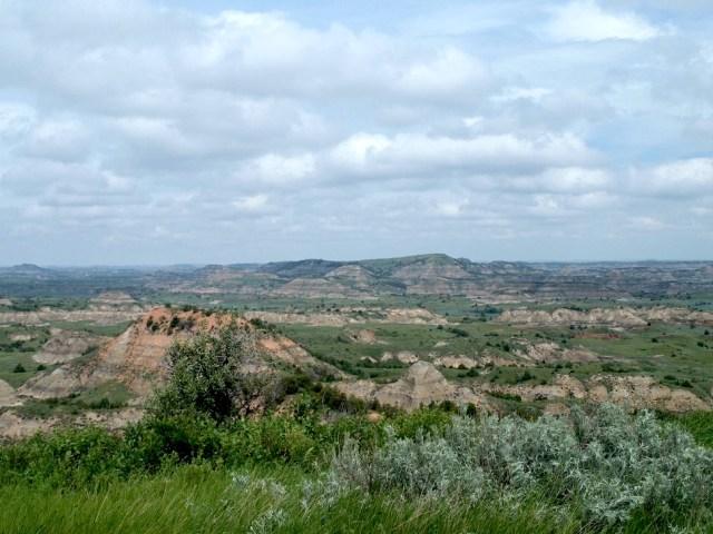 Theodore Roosevelt National Park Overlook