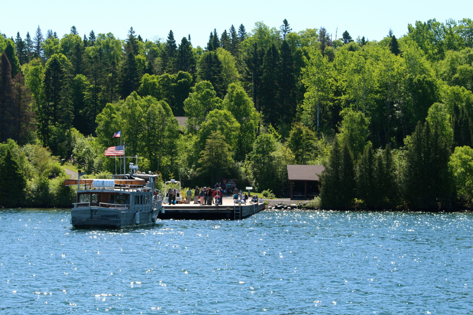 Approaching Windigo Harbor - Isle Royale National Park