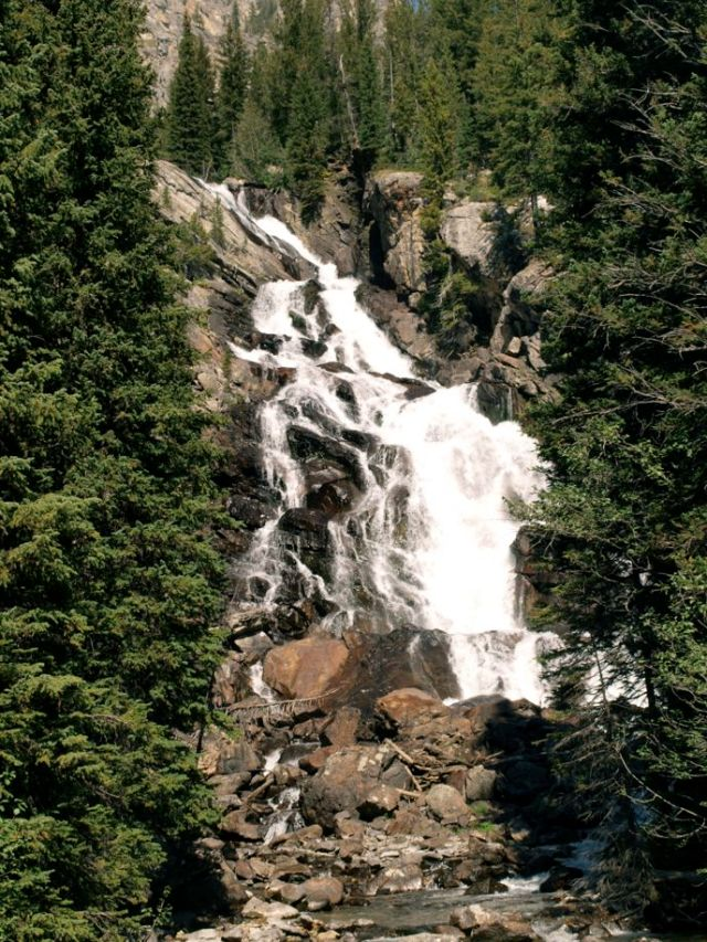 Grand Teton National Park: Hidden Falls