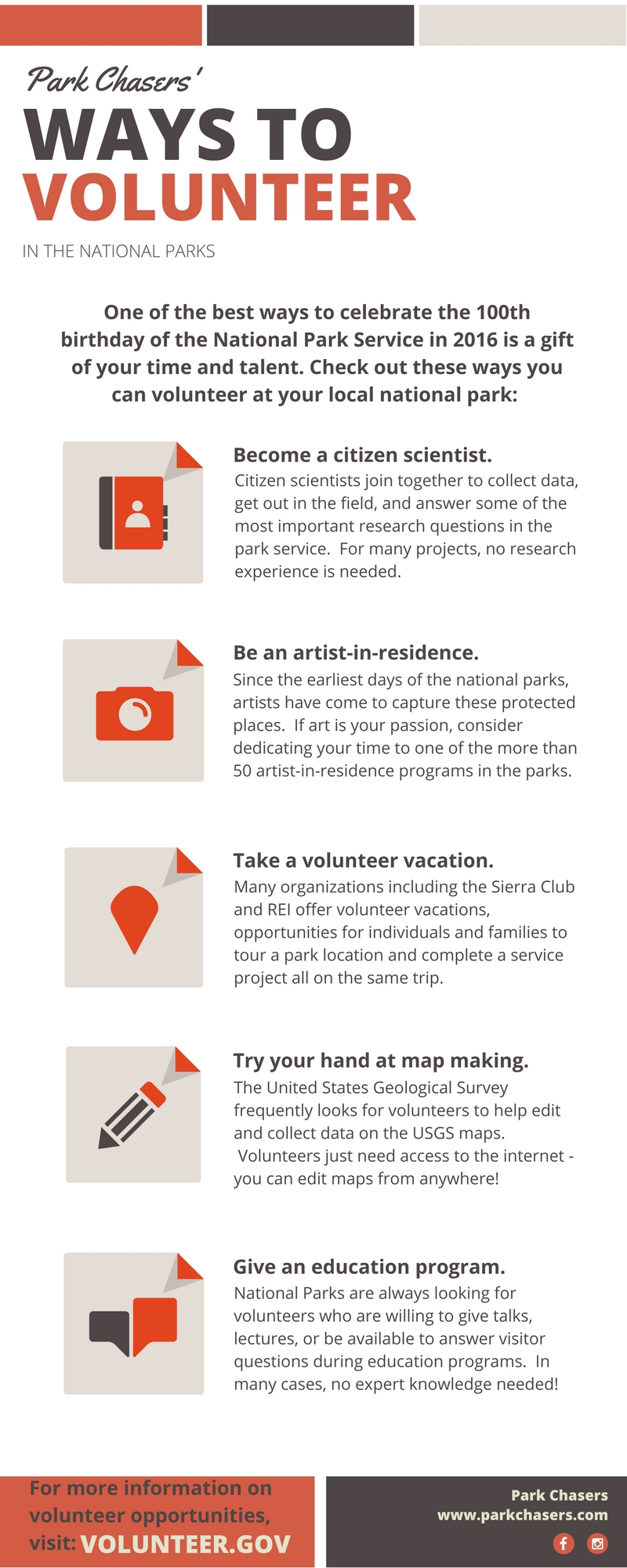 Ways to Volunteer in the National Parks