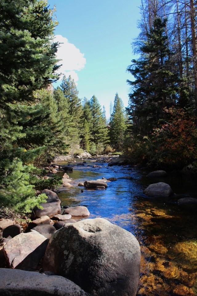 Big Thompson River - Fern Lake Trail