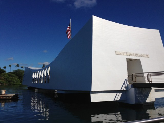 Docking at the USS Arizona Memorial - Pearl Harbor National Memorial