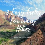 Hiking in Zion National Park:  3 Easy Treks for Every Hiker