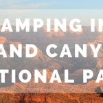 Camping in Grand Canyon National Park:  The Mather Campground