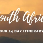 Our 14 Day South Africa Itinerary