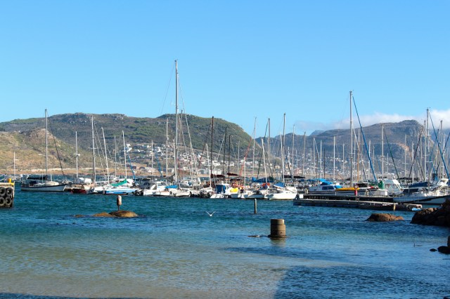 Simon's Town Fishing Wharf - Cape Town, South Africa