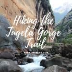 Hiking Royal Natal National Park:  The Tugela Gorge Trail