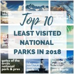 The Least Visited National Parks in 2018