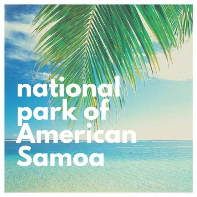 national park of American Samoa header image