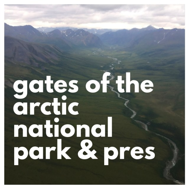gates of the arctic national park and preserve, the least visited national park in the park service