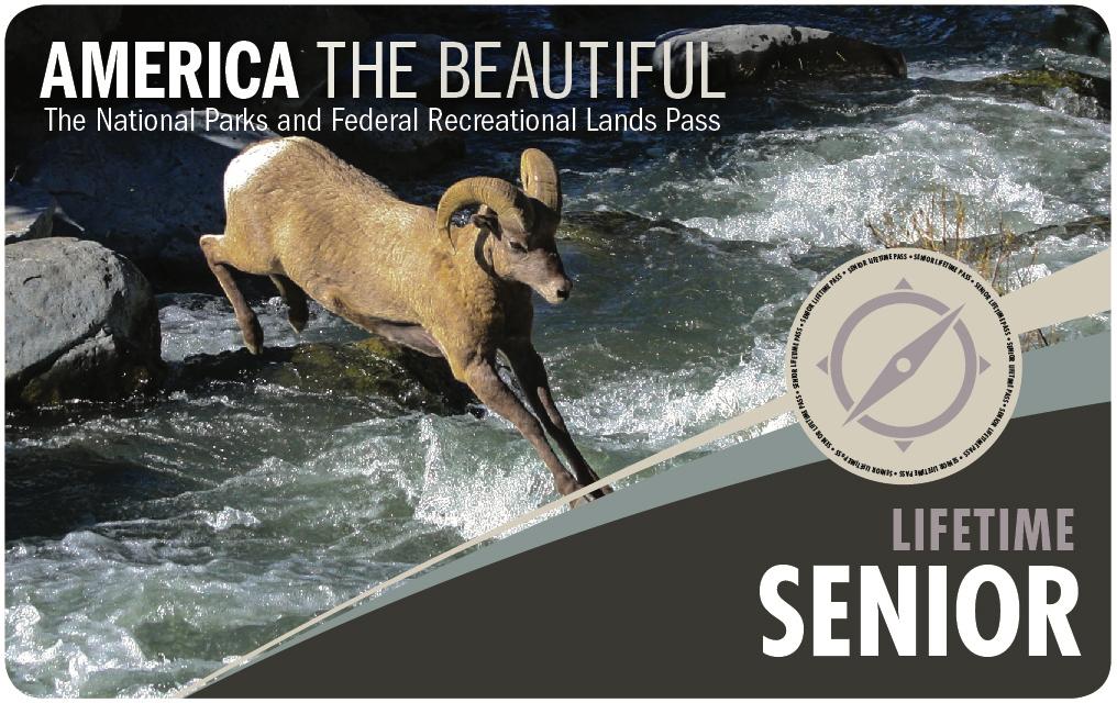 National Parks Pass for Seniors Lifetime