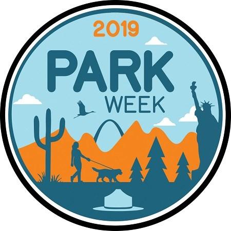 2019 National Park Week Logo - provided by NPS.gov