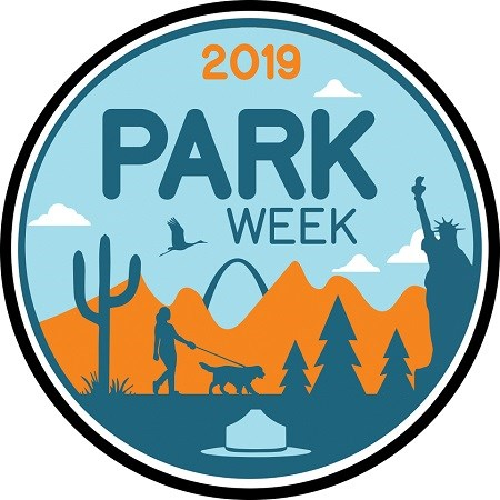 2019 National Park Week Logo - provided by NPS.gov
