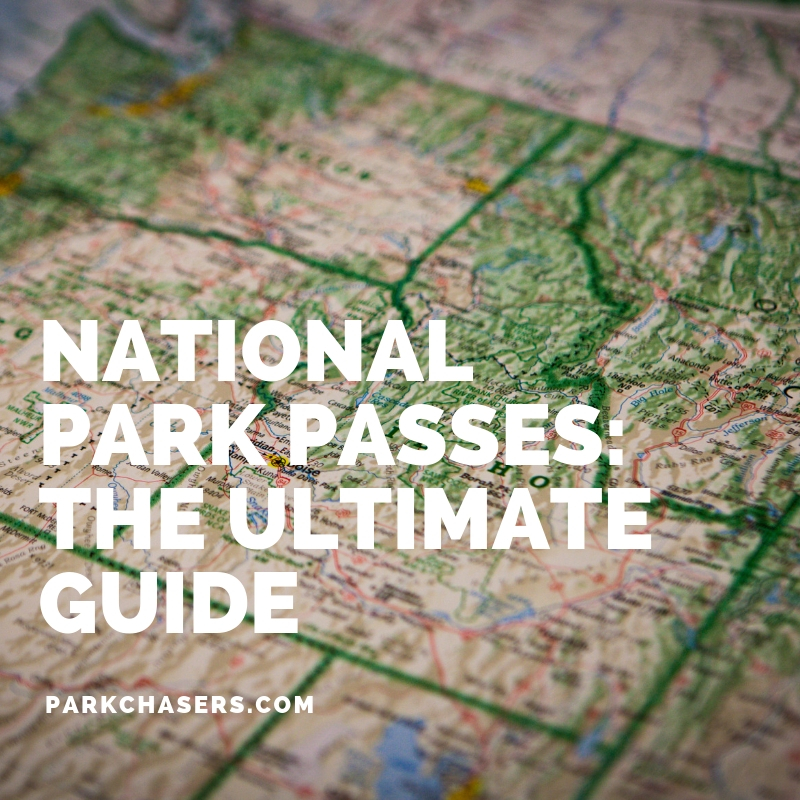National Park Passes Logo for The Ultimate Guide