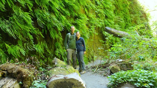 Park Chasers in Fern Canyon, Redwoods National Park