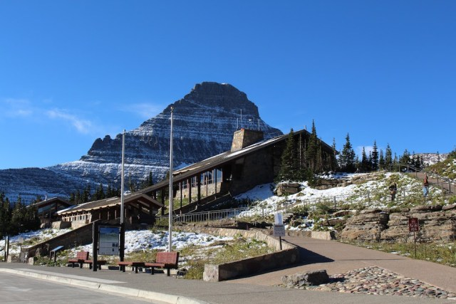 Logan Pass Visitors Center - Glacier National Park