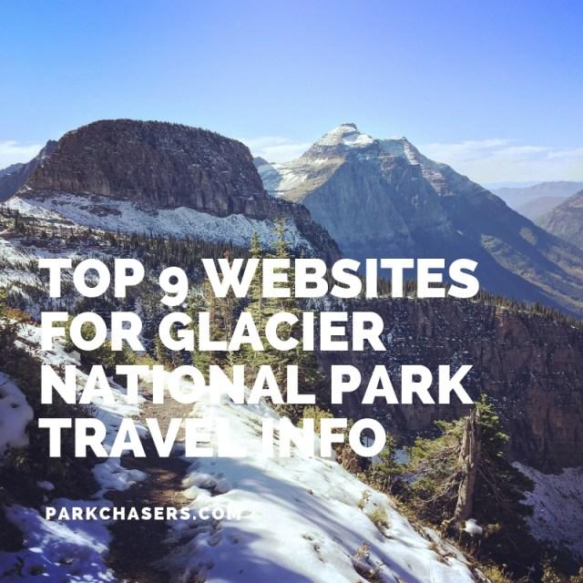 Top 9 websites for Glacier National Park travel info