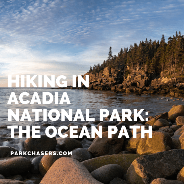 Hiking in Acadia National Park Header The Ocean Path