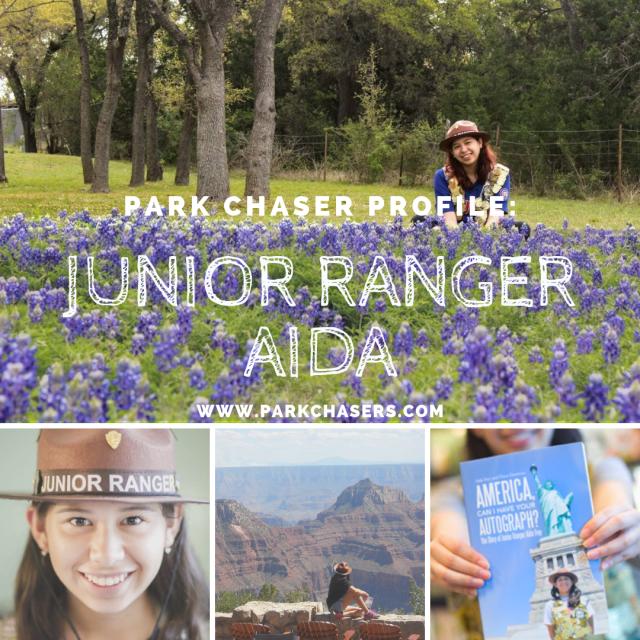 Park Chaser Profile Logo Junior Ranger Aida